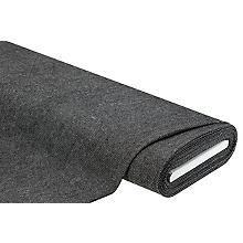 Webstoff / Mantelstoff, schwarz/weiß
