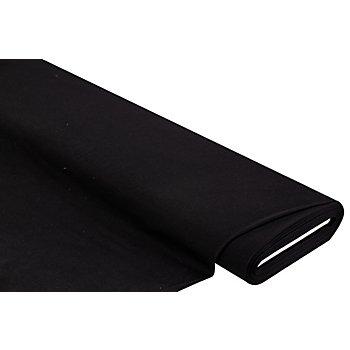 Tissu jersey en coton 'uni', noir