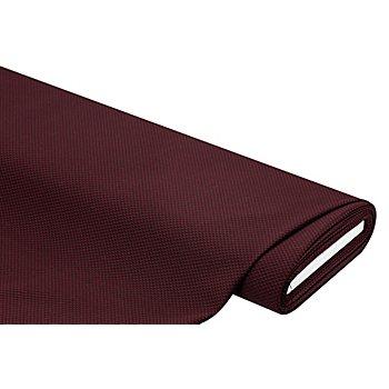 Jacquard mit kleinem Krawattenmuster, dunkelrot/schwarz