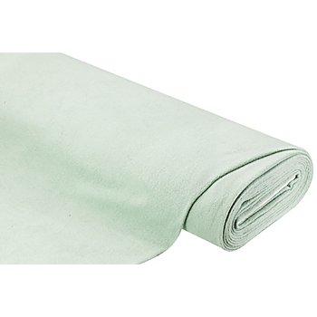 Baumwoll-Fleece, mint