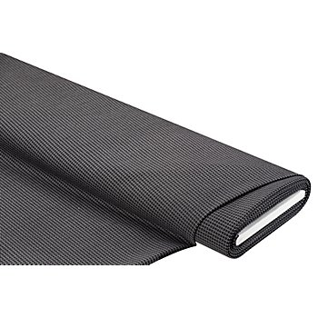 Tissu jacquard 'motif de cravate', noir/gris/blanc