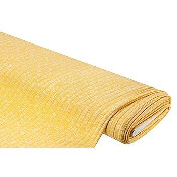 Rippstrick, gelb-meliert