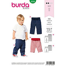 burda Patron 9359 'pantalon pour enfants'
