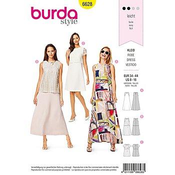 burda Schnitt 6628 'A-Linie-Kleid'