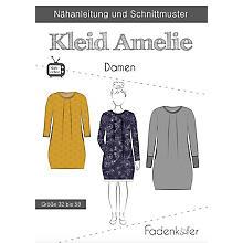 Fadenkäfer Schnitt 'Kleid Amelie' für Damen