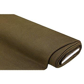 Strickstoff, olivgrün