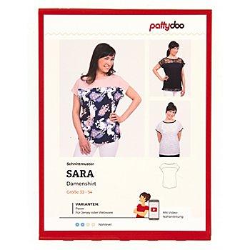 pattydoo Schnitt 'Damenshirt Sara'