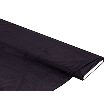 Tissu velours extensible, bleu marine
