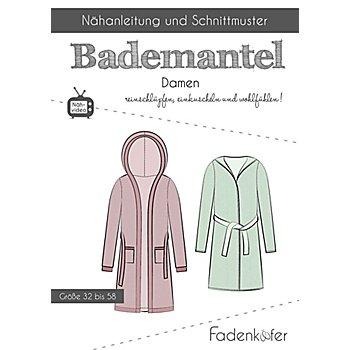 Fadenkäfer Schnitt 'Bademantel' für Damen