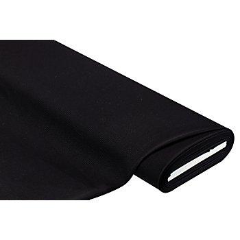 Elastik-Jersey mit Krawattenmuster, schwarz/grau