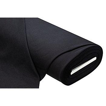 Tissu Sweat-shirt recyclé, noir
