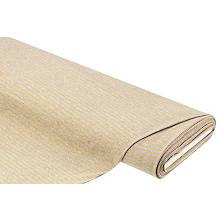 Baumwolljersey 'Streifen', grau/gelb