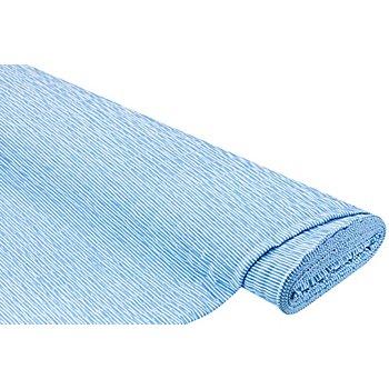 Seersucker, blau/weiß