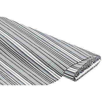 Seersucker, grau/weiß