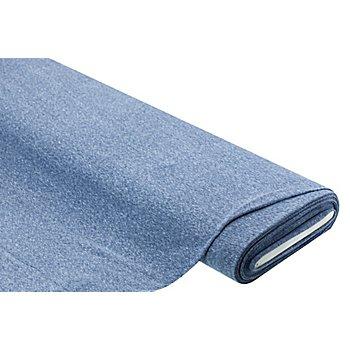Elastik-Jersey, jeansblau-melange