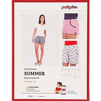 pattydoo Schnitt 'Damenshorts Summer'
