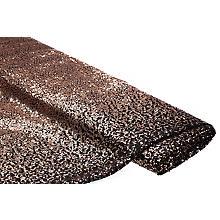 Tissu à paillettes 'dégradé', cuivre/noir