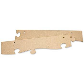 MDF-Puzzle-Bilderrahmen Aufhängeleiste, 63 cm