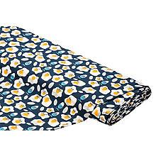 Bol-Baumwolljersey 'Lustige Eier' mit Elasthan, blau-color