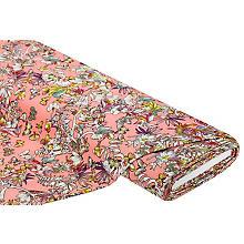 Viskose-Jersey 'Schmetterlinge', rosa-color