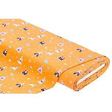 Tissu jersey 'princesse' avec élasthanne, ocre