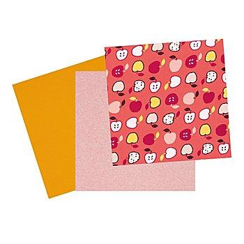 Jersey-Paket 'Apfel', koralle-color