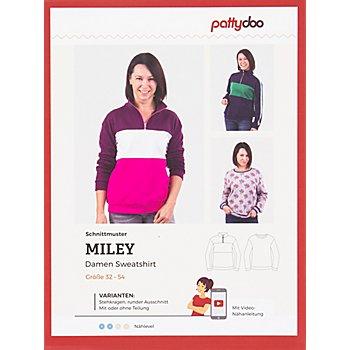 pattydoo Schnitt 'Damen Sweatshirt Miley'