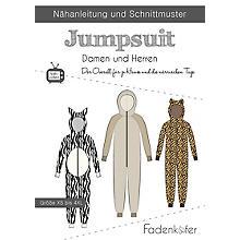 Fadenkäfer Schnitt 'Jumpsuit' für Damen und Herren
