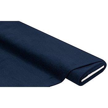 Weich gerauter Jeansstoff, marine