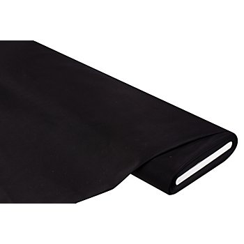 Stretch-Satin seidenmatt, schwarz