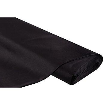 Schwerer Stretch-Satin, schwarz