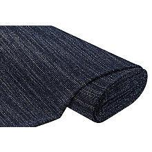 Bouclé 'Streifen & Glitzer', dunkelblau-color