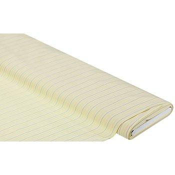 Blusenstoff 'Streifen', gelb/bunt