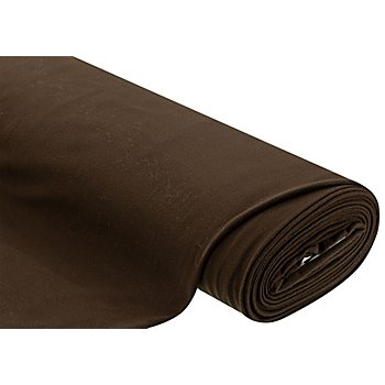 Tissu polaire, marron foncé