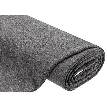 Strickstoff mit Wolle, stein-melange