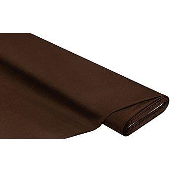 Tissu jersey doux et fluide, marron foncé