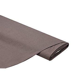 Batist 'Streifen', taupe/schwarz
