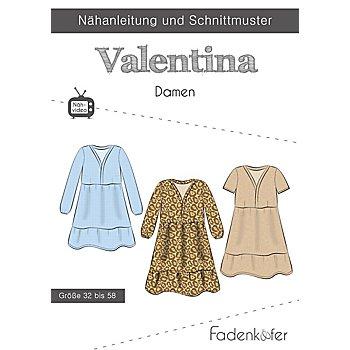 Fadenkäfer Schnitt 'Kleid Valentina' für Damen