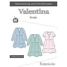 Fadenkäfer Schnitt 'Kleid Valentina' für Kinder