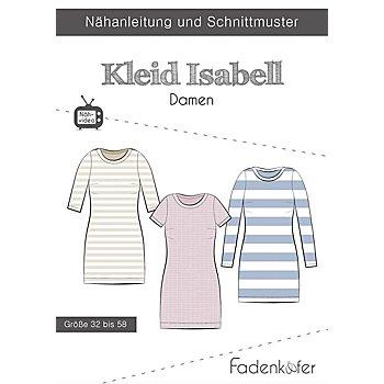Fadenkäfer Schnitt 'Kleid Isabell' für Damen