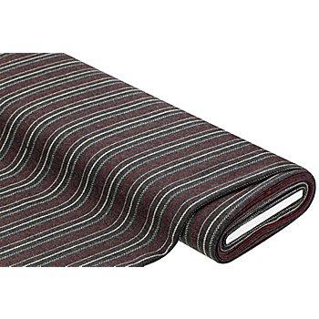 Webstoff 'Streifen', grau-color