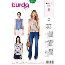 burda Schnitt 6525 'Top & Bluse'