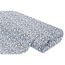 Jersey en coton 'graffiti' avec de l'élasthanne, bleu clair/multicolore