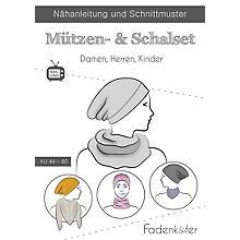 Fadenkäfer Schnitt 'Mützen- & Schalset' für Damen, Herren und Kinder