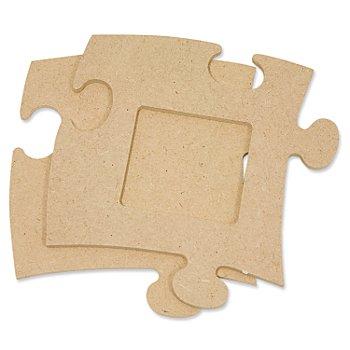 Cadre 'puzzle', carré, 12 x 12 cm