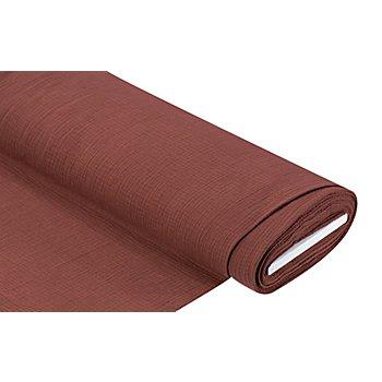Tissu mousseline/double gaze bio, rouge