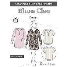 Fadenkäfer Schnitt 'Bluse Cleo' für Damen