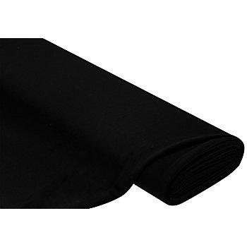 Romanit-Jersey Doubleface, schwarz