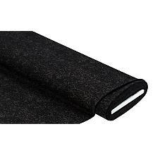 Tissu jacquard extensible / Bengalin, marron/noir