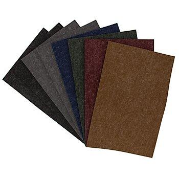 Textilfilz-Paket 'Melange', Stärke 4 mm, 20 x 30 cm, Melangetöne